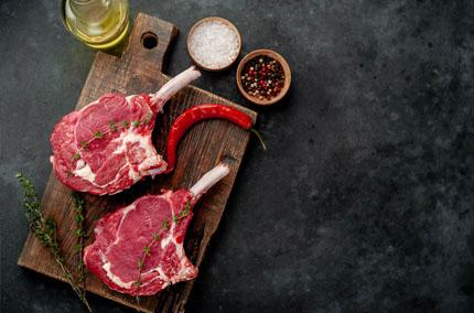 Biohotel Lindengut Biofleisch Demeter Steak
