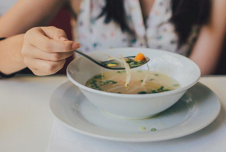 Biohotel Lindengut Fasten zu Hause Suppe