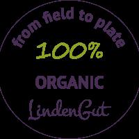 Biohotel Lindengut Button 100% Organic