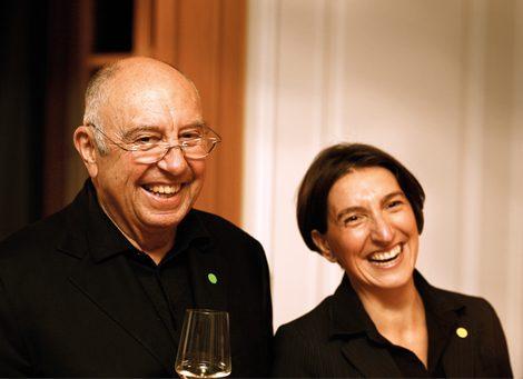 Biohotel Lindengut Gastgeber Anja Lindner und Wolfgang Gutberlet